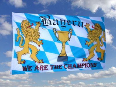 Bayern Fahne We are the Champions  90x150 cm