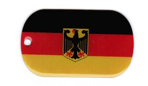 deutschland adler dog tag 3x5 cm fahnen und flaggen shop. Black Bedroom Furniture Sets. Home Design Ideas