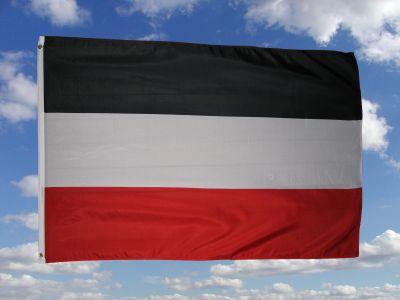 deutsche reichsflagge fahne flagge 90 x 150 cm fahnen und flaggen shop fahnen. Black Bedroom Furniture Sets. Home Design Ideas