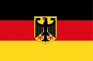 deutschland fahne flagge mit adler 90cm x 150cm fahnen. Black Bedroom Furniture Sets. Home Design Ideas