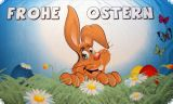 Frohe Ostern Fahne / Flagge 60 x 90cm Motiv 1