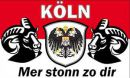 Buy national flags like Köln Mer stonn zo dir Fahne / Flagge 90x150 cm in our onlineshop!