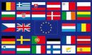 Buy national flags like Europa 28 Länder Fahne 90x150 cm in our onlineshop!