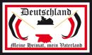 Buy national flags like DR Deutschland Meine Heimat, Mein Vaterland Fahne 90x150 cm in our onlineshop!