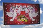 Just Married Fahne 90x150 cm Motiv 2